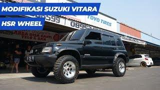 Modifikasi Suzuki Vitara Menggunakan HSR Wheel