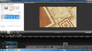 Camtasia for Windows: Creating a Title Slide