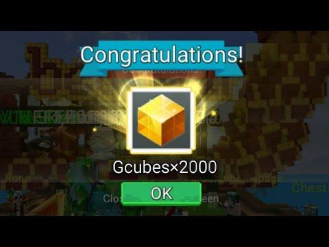 I GOT 2000 GCUBES REWARD Quest in Bedwars (Blockman GO)