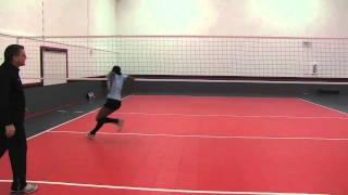 AVCA Video Tip of the Week - Middle Blocker Transition Footwork