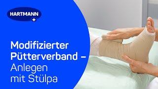 Kompressionsverband Nach Pütter Fischer Und Schneider