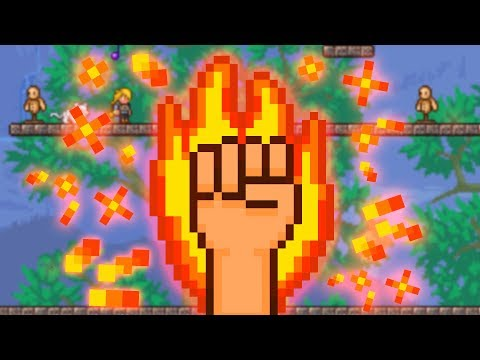 Terraria but I only fight bosses with my FISTS