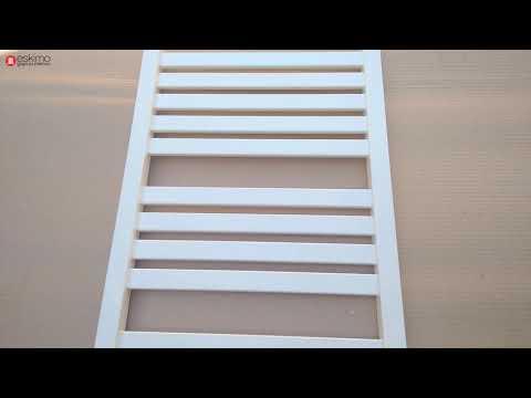 Terma Marlin 1185x430, электрический, белый RAL 9016