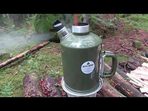 Survival Kettle - Wasserkocher 1,2 Liter | Outdoor AusrüstungTV
