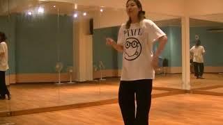 香音先生のダンスレッスン~三拍子のステップ ~のサムネイル画像