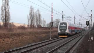 preview picture of video 'Praha - Horní Měcholupy, vlaky 8. 3. 2014'