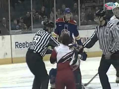 Brad Herauf vs. Pierre-Cedric Labrie