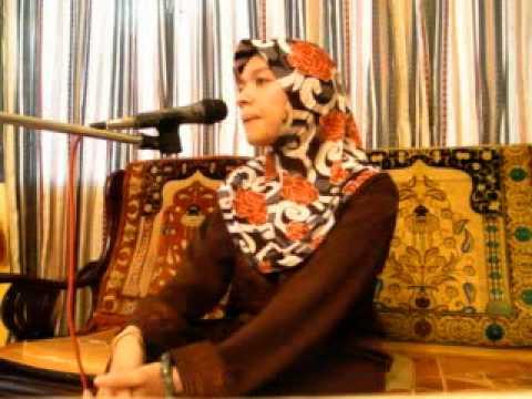 World's Best Celebrity Qariah-Sharifah Khasif (Malaysia) reciting Al Quran.mpg