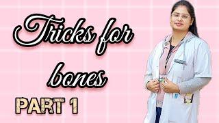 Tricks for Bones / axial skeleton tricks / facial bone / cranial bone for neet aspirants/ neet 2020