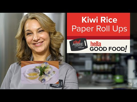 Fruit Rice Paper Rolls