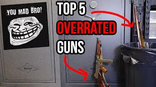 Top 5 Overrated Guns | TFBTV