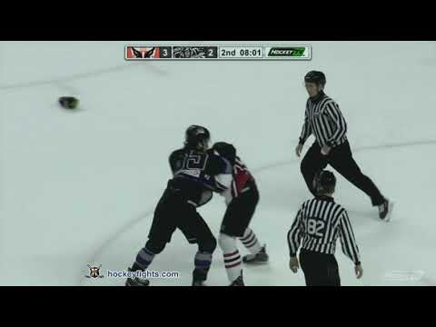 Josh Thrower vs. Mackenzie Dwyer