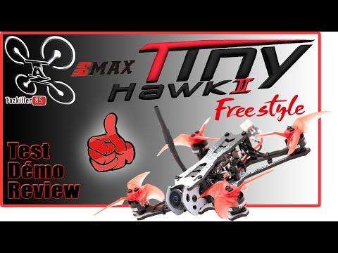 EMAX Tinyhawk II Freestyle - Review Test Démo - Belle évolution !
