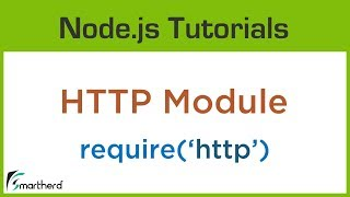 #3.2 Node.js HTTP Module. Node Tutorials for beginners