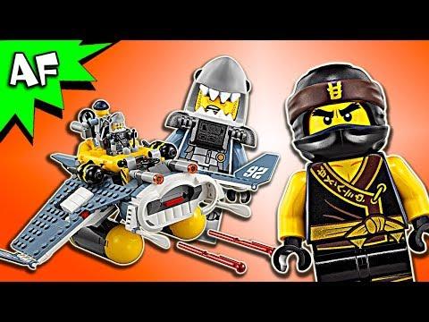 Vidéo LEGO Ninjago 70609 : Le bombardier Raie Manta