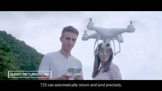 Potensic T25 GPS Drone, FPV RC Drone with Camera 1080P HD WiFi Live Video Auto Return Home