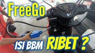 Trik Aman Pengisian BBM Yamaha FreeGo S ABS
