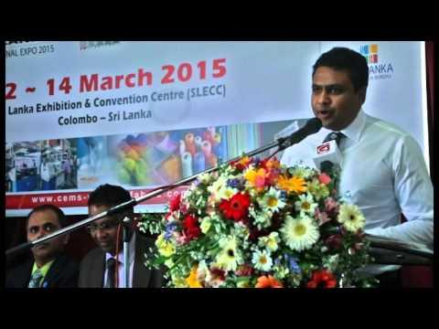 6th Textech Srilanka 2015 International Expo Part 1
