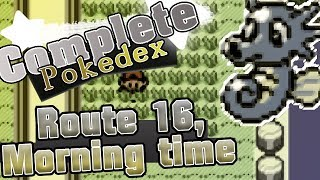 HORSEA,GRIMER,FEAROW & JIGGLYPUFF - Pokemon Silver VC Completing the pokedex