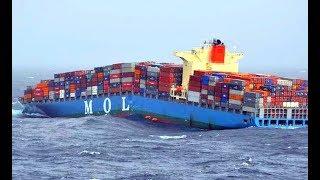 Top 10 Large Ships Crash! Ships Collision