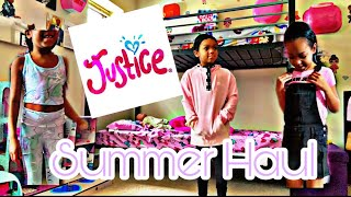 Justice Kids Summer Clothing Haul