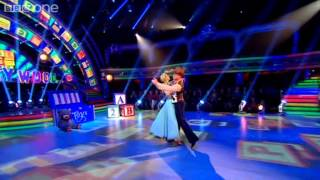 Denise Van Outen & James Foxtrot to 'You've Got a Friend in Me' - Strictly Come Dancing 2012 - BBC