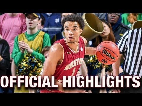 Jerome Robinson Official Highlights | Boston College