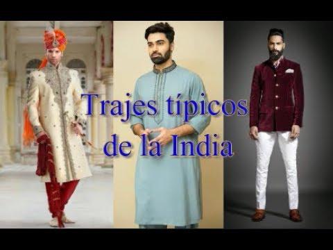 ¿Qué visten los hombres en la India? | Trajes Tipicos de la India (Typical Costumes of India)