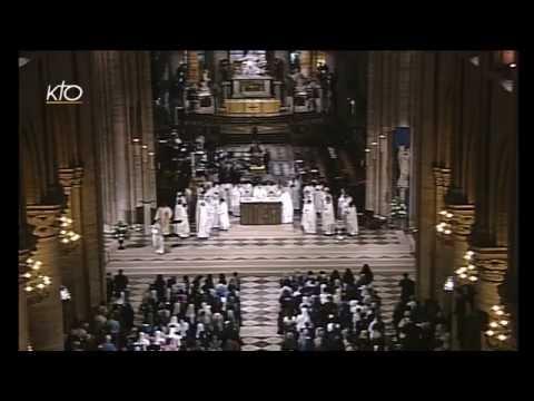 Messe de clôture du rassemble des jeunes religieux de France