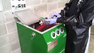 E300A Waterborne Spray Gun Cleaner – Operation