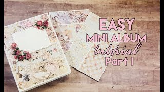 All About Pockets! Easy Mini Album Tutorial - Part 1
