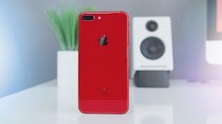 Product RED Apple iPhone 8 Unboxing!
