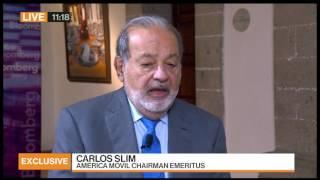 Carlos Slim on President Trump: 'I'd Be More Worried If I Were American'
