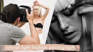 Natural Light Fashion Photography Demo With Lucas Passmore