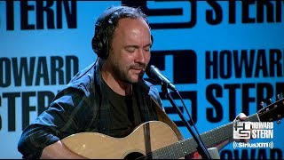 """Dave Matthews """"A Whiter Shade Of Pale"""" Live On The Stern Show"""