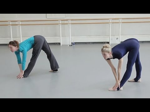 Kristen McNally rehearses her new dance piece for BalletBoyz: theTALENT for Deloitte Ignite 2014