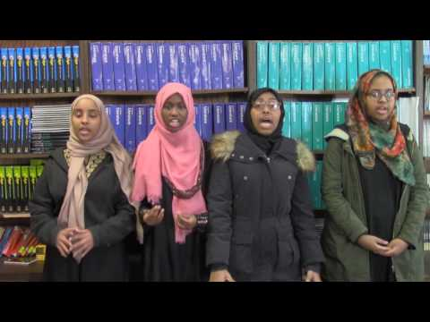 Watch THE SCARF, a video poem made with Somali-American students at Rochester STEM Academy.