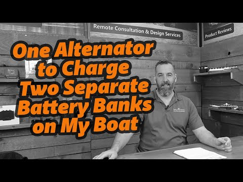How Do I Charge Two Separate Batteries With One Alternator?