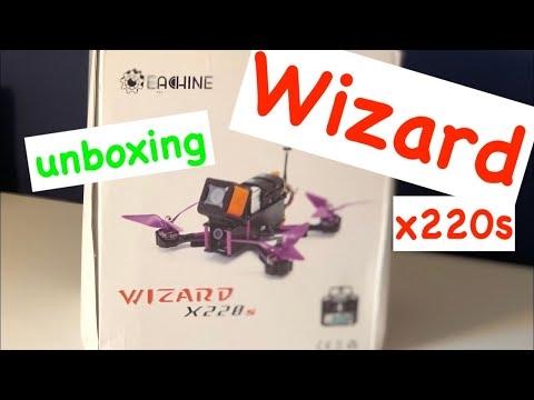 eachine-wizard-x220s-unboxing-deutsch-hd