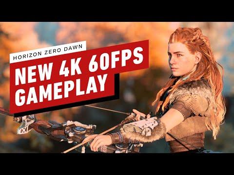 《地平線:期待黎明/零之曙光》PS5版實機遊戲畫面展示