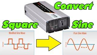 Convert Square Wave Inverter Into Sine Wave Inverter