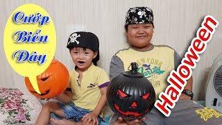 Trò Chơi Cướp Biển Đi Xin Kẹo Halloween ❤ TinTin TV ❤