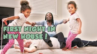 Download Youtube: CRAZY FIRST NIGHT IN NEW HOUSE