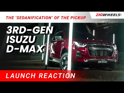 The 'Sedanification' of the Pickup | 3rd-Gen Isuzu D-Max Reaction Video