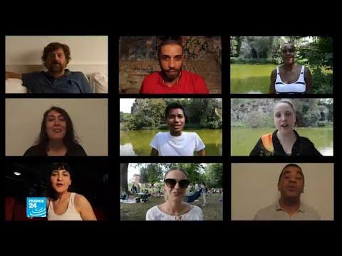 العرب اليوم - شاهد: انطلاق فعاليات مهرجان الفن المعاصر التونسي في باريس