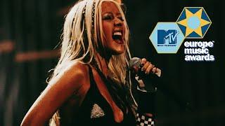 Christina Aguilera   Dirrty (Live MTV EMAs 2002)