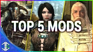 Top 5 Console Mods 11 - Follower Mods - Skyrim Special Edition (Xbox One/PC)