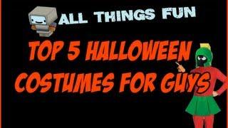 Halloween Costume Ideas 2013 - Top 5 Adult Halloween Costumes For Men