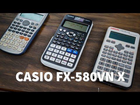 Thử tốc độ máy tính Casio FX580VN X: quá nhanh, quá nguy hiểm