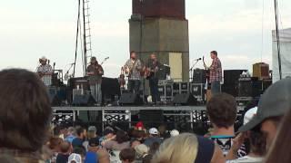 "Trampled By Turtles 7/6/11 ""Bloodshot Eyes"" Bayfront Festival Park, Duluth, MN"